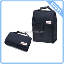 2015 PackIt Freezable Lunch Bag with Zip Closure, Black