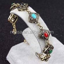 fashion gold bracelet 22k NSBR-24909