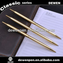 Dewen slim & long metal ballpoint pen