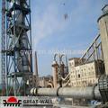 Clinker de cemento de producción/horno rotatorio/de cemento molino de bolas/vertical molino de rodillos