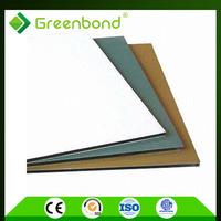 Greenbond floor finish materials bathroom wall covering panels aluminum composite sheet