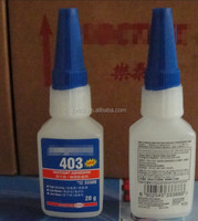 Loctit High pressure 403 Strong transparent drying cyanoacrylate glue Seamless green refractory metal plastic