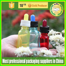 30 ml bottle eliquid glass dropper bottle colorful childproof cap colorful rubber