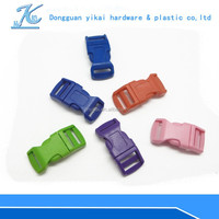 """colorful curved buckle,1/2"""" inch plastic buckle for paracord bracelet/bagpacks"""