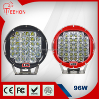 """Offroad 4WD High Efficient High Power Flood or Spot Beam Auto 12V 24V 9"""" 96W LED Driving Light"""