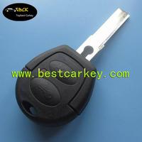 Remote car key shell 2 button for vw gol key for vw key blank with logo