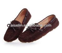 2014 doudou xie Royal blue brand name women flats cheap flat shoes for women
