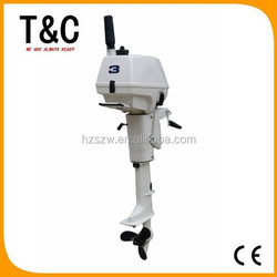 gasoline china marine boat engine 2 stroke 3.5 hp chinese outboard motor propeller for sale