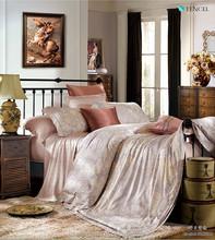 modern bedroom set 80S tencel custom printed duvet cover set