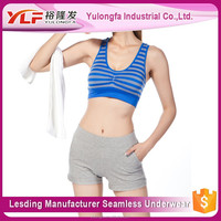 2015 Factory Directly Wholesale Seamless Ladies Sports Bra