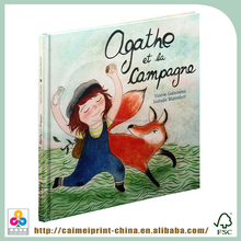 pop-up children's top model coloring book printing
