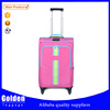 2015 hot sale polyester four wheels luggage set / big capacity trolley luggage bag