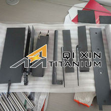 Titanium Anodes by Electrolysis Method with Various Specification