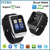 Bluetooth 4.0 Support android APP softwares u9 smart watch FTB21