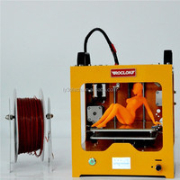 China supplier ROCLOK Mini type FDM desktop 3D printer with solid super flat building platform