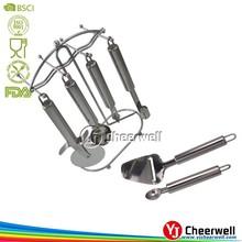 italia style stainless steel kitchen utesils set factory supply