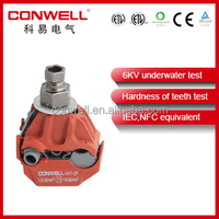 underwater test insulation piercing connector electrical pipe hanger clamp