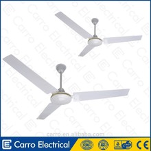 DC Solar Ventilador de techo de 12V 56 ''sin escobillas con luz y remoto
