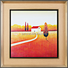 2015 Pretty Cheap Framed Countryside Realist Painting