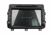 Special in dash touch screen wince car dvd 2 din for k5 2014 with GPS, dvd, bt, usb, Radio, analog tv, steering wheel control