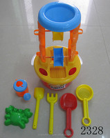 2015Hot summer toy kids sand beach toy Water Sand Car Set Games
