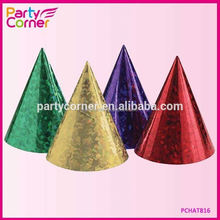 Shiny Party Cone Hat