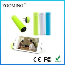 Z-007 2015 Best bluetooth portable speaker bank power phone charger with logo power bank