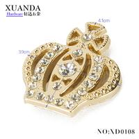 Fashion, beautiful crown hardware handbag accessory for bag