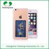 Newest slim transparent case multicolor soft TPU durable anti-friction with card slot case cover for Apple iPhone 6 series