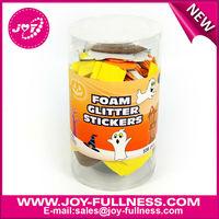 halloween seasonal eva foam sticker buckets