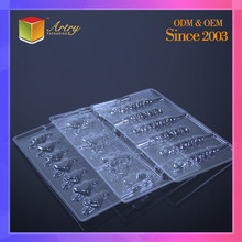 Hot Recommended Clear Luxury Packaging Chocolate Blister Tray