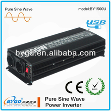 DC-AC pure sine wave solar power inverter,inverter pure sine wave 1500 watt