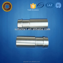 high precision polished stainless steel machining cnc tube/pipe