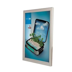 A4 acrylic led photo/poster/snap frame,single side,15mm thickness,silver