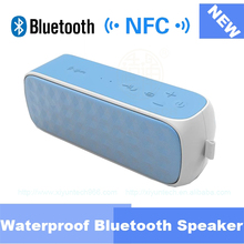 portable NFC power bank waterproof bluetooth stereo twist bluetooth speaker