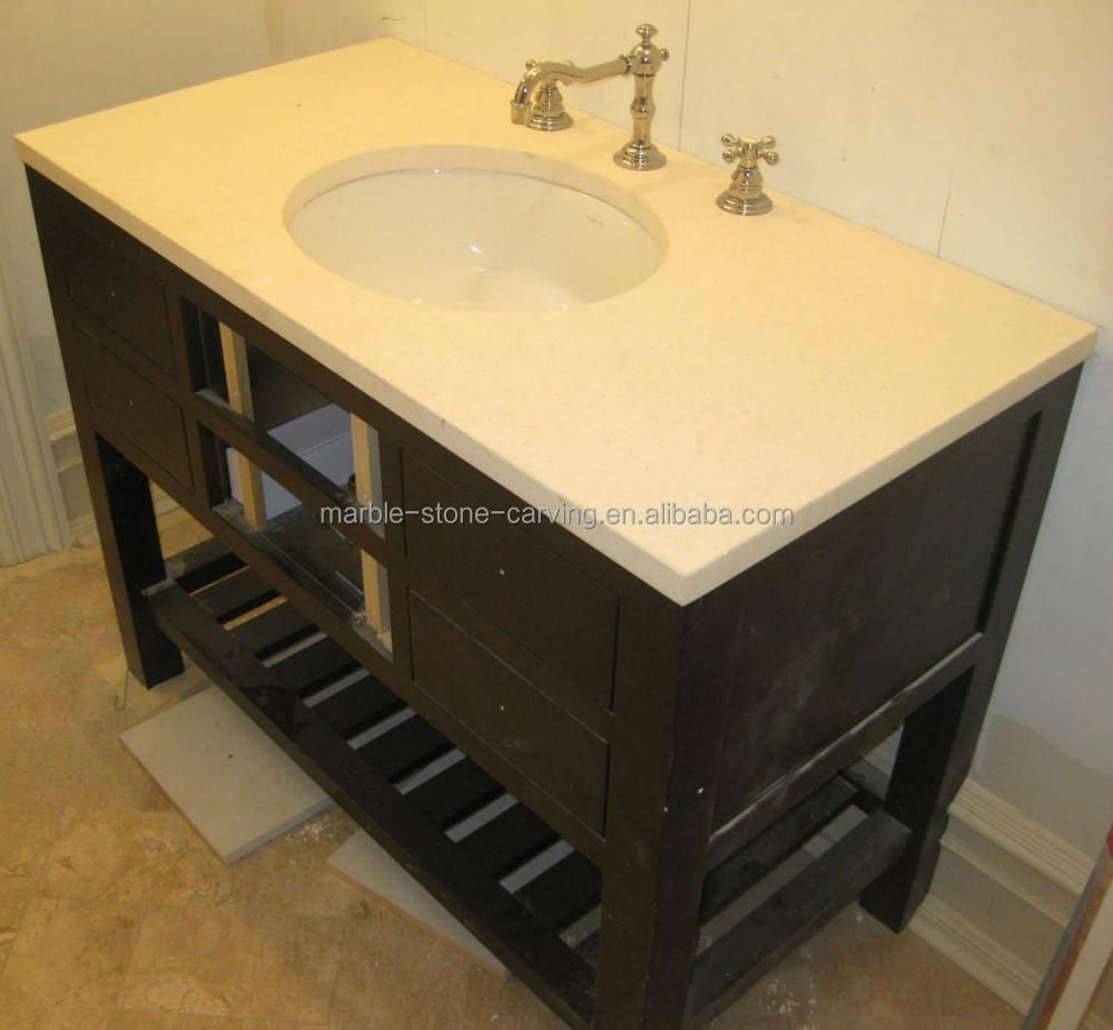 One Piece Bathroom Sink : One piece vanity top bathroom vanity top sink bathroom vanity top ...