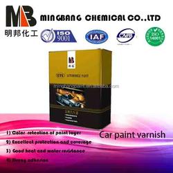 Acrylic car usage varnish coating 2k