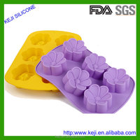 Wholesale Custom New Design Food Grade Silicone Ice Cube Tray, Candy Molds