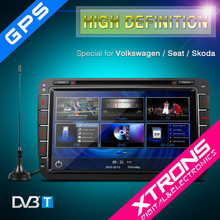 "PF81MTVD- XTRONS 8"" Ultra-clear Touch Screen GPS/Dynamic User Interface/Built-in DVB-T Car DVD Plyer For VW"