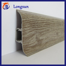 various types of wood textures pvc skirting board