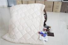 Fashion seersucker microfiber quilt,beige