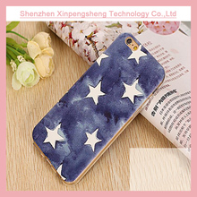 Custom popular star printed tpu mobile phone case for iPhone6