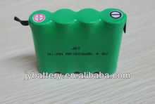 aa 1800mah 4.8v nimh rechargeable battery with tabs