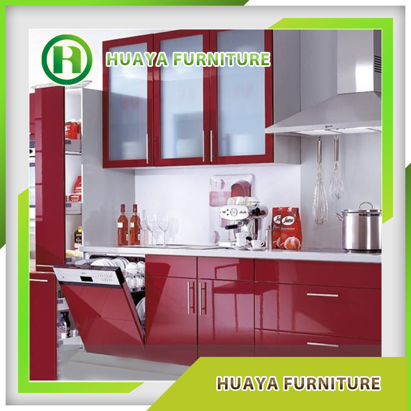 Melamine board modern kitchen cabinets simple design on for Melamine kitchen designs