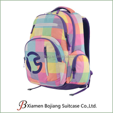 Multi-color mix Backpack Bags for school or Day Packs for girl