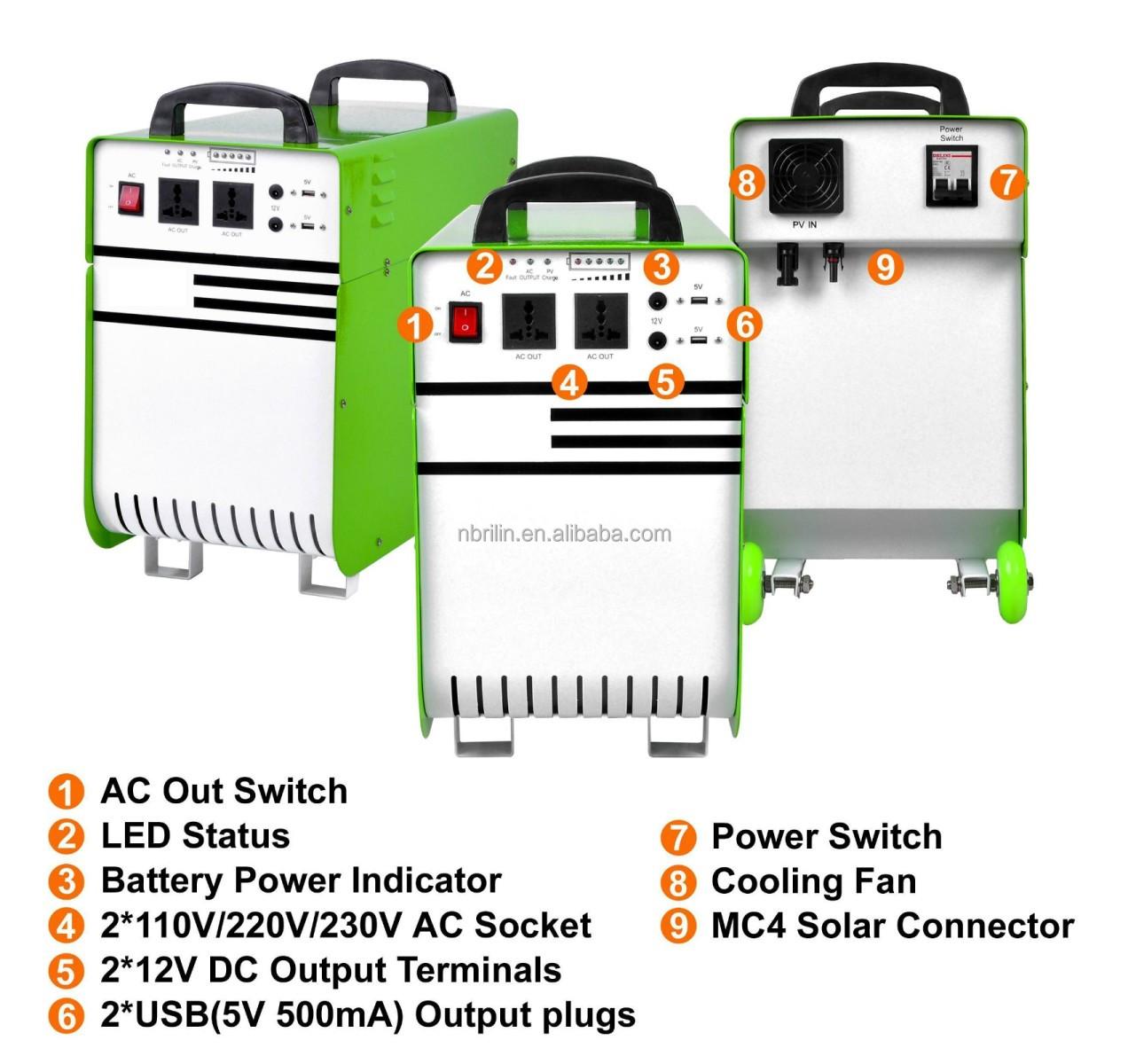 500W Solar Power System