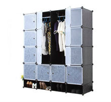 DIY Home Decoration Plastic Storage Cabinet with Shoe Rack