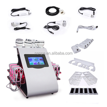 6 in 1 Radio Frequency RF Machine Lipo Laser Ultrasonic Cavitation Vacuum Suction Multifunction Beauty Machine