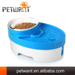 Small Pet Dog Cat Puppy Self Food Feeder and Hanging Water Drinking Fountain