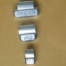 Alloy rim Pb wheel weight,Pb clip on wheel weights